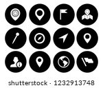 map pin icons set   navigation... | Shutterstock .eps vector #1232913748