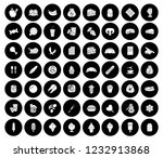 vector food icons set   eat and ... | Shutterstock .eps vector #1232913868