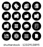 file and folder icons set  all... | Shutterstock .eps vector #1232913895