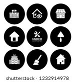 building icons set   vector... | Shutterstock .eps vector #1232914978