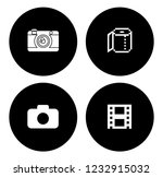equipment photography icons set ... | Shutterstock .eps vector #1232915032