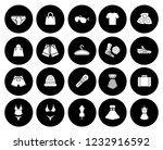 fashion design icons set  ... | Shutterstock .eps vector #1232916592