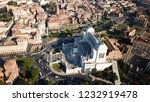 aerial drone view of iconic...   Shutterstock . vector #1232919478
