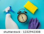 cleaning time with cleaning...   Shutterstock . vector #1232942308