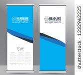 roll up business brochure flyer ... | Shutterstock .eps vector #1232962225