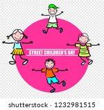 street children's day | Shutterstock .eps vector #1232981515