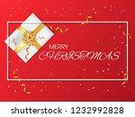 vector happy new year background   Shutterstock .eps vector #1232992828