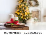 christmas decoration at home ...   Shutterstock . vector #1233026992