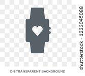 activity tracker icon. activity ... | Shutterstock .eps vector #1233045088