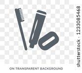 hygiene kit icon. hygiene kit... | Shutterstock .eps vector #1233085468