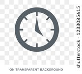 wall clock icon. wall clock... | Shutterstock .eps vector #1233085615