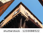 view of the old city centre in... | Shutterstock . vector #1233088522