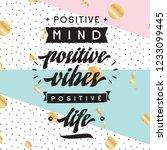 inspirational quote  motivation.... | Shutterstock .eps vector #1233099445
