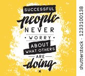 inspirational quote  motivation.... | Shutterstock .eps vector #1233100138