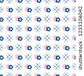 seamless pattern with buttons.... | Shutterstock .eps vector #1233106042