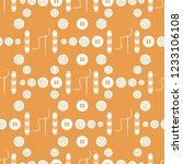 seamless pattern with needles ... | Shutterstock .eps vector #1233106108