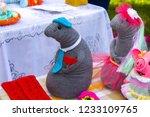 knitting toys handmade   Shutterstock . vector #1233109765