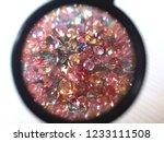 natural ruby  fancy sapphire ... | Shutterstock . vector #1233111508