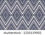 geometric ethnic pattern... | Shutterstock .eps vector #1233119002