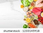 Healthy Diet Food. Various Low...