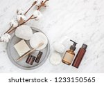 zero waste natural cosmetics... | Shutterstock . vector #1233150565
