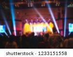 blurred of christian... | Shutterstock . vector #1233151558