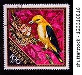guinea   circa 1971  a stamp... | Shutterstock . vector #123316816