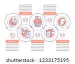 online shopping vector... | Shutterstock .eps vector #1233175195