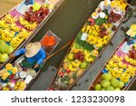 floating market thailand | Shutterstock . vector #1233230098