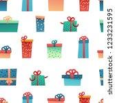 design seamless pattern for... | Shutterstock .eps vector #1233231595