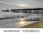 Sunset Over Seacliff Pier And...