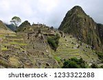 looking over the ancient ruins...   Shutterstock . vector #1233322288
