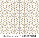 seamless pattern based on... | Shutterstock .eps vector #1233326818