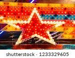 star christmas ornaments   Shutterstock . vector #1233329605