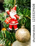 christmas colgants ornaments   Shutterstock . vector #1233329608
