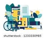 vector creative illustration of ... | Shutterstock .eps vector #1233330985