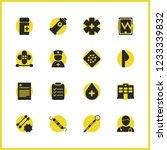 medicine icons set with bandage ...