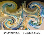 abstract background in bright... | Shutterstock . vector #1233365122