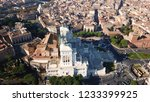 aerial drone view of iconic...   Shutterstock . vector #1233399925