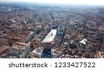 aerial drone view of iconic... | Shutterstock . vector #1233427522