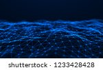 network connection structure....   Shutterstock . vector #1233428428