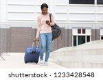 full body portrait of happy...   Shutterstock . vector #1233428548