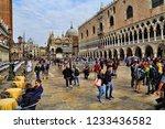 venice  italy   september 30 ... | Shutterstock . vector #1233436582
