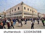 venice  italy   september 30 ... | Shutterstock . vector #1233436588