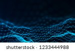 network connection structure....   Shutterstock . vector #1233444988