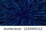 abstract circular speed... | Shutterstock . vector #1233465112