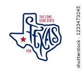 Texas Related T Shirt Design....