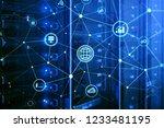 ict   information and... | Shutterstock . vector #1233481195