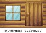 Illustration Of Window And Doo...