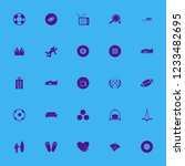 leisure icon. leisure vector... | Shutterstock .eps vector #1233482695